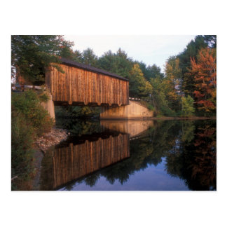 Greenfield Covered Bridge New Hampshire Postcard