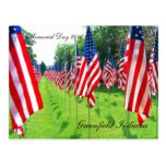 Greenfield Indiana, Memorial Day 2010 Postcard