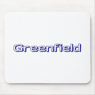 Greenfield Mouse Pad
