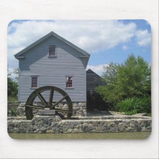 Greenfield Village Water Wheel Mousepad