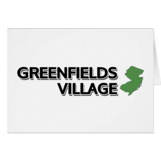 Greenfields Village, New Jersey Card