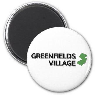 Greenfields Village, New Jersey Magnet