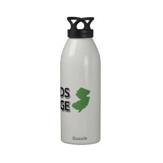Greenfields Village, New Jersey Water Bottles