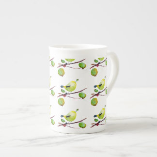 Greenfinch China Mug