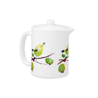 Greenfinch Teapot