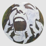 GREENfiti-1 Stickers