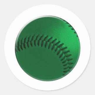 greengrass ball classic round sticker