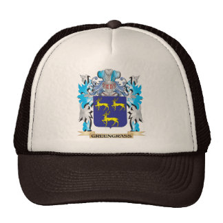 Greengrass Coat of Arms - Family Crest Trucker Hat