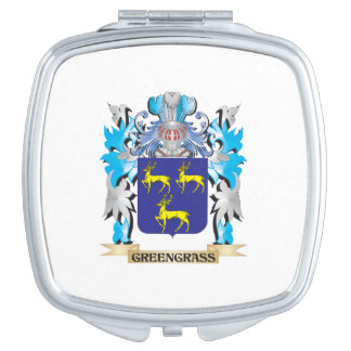 Greengrass Coat of Arms - Family Crest Makeup Mirrors
