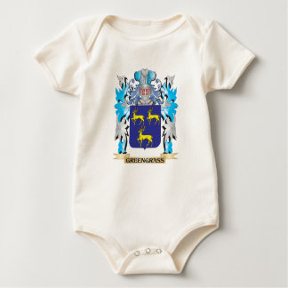 Greengrass Coat of Arms - Family Crest Baby Creeper