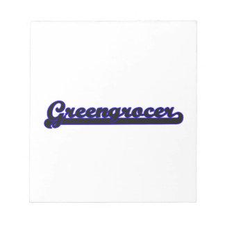 Greengrocer Classic Job Design Scratch Pads