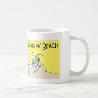 Greenhead has lunch coffee mug