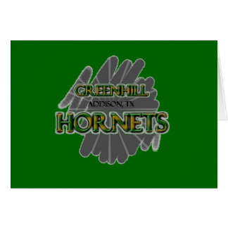 Greenhill Hornets - Addison, TX Card
