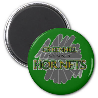 Greenhill Hornets - Addison, TX Magnet