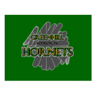 Greenhill Hornets - Addison, TX Postcard