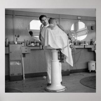 Greenhills, barbería de Ohio, los años 30 Poster