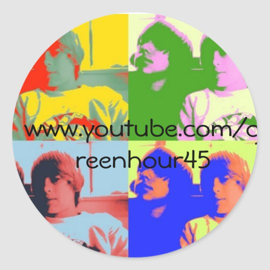 Greenhour45 Sticker