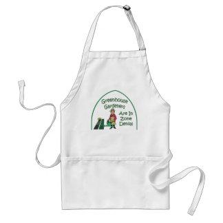 Greenhouse Gardeners Are In Zone Denial Adult Apron