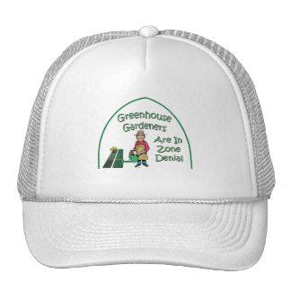 Greenhouse Gardeners Are In Zone Denial Mesh Hats