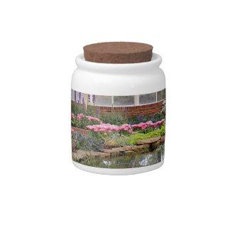 Greenhouse Glory Candy Jar