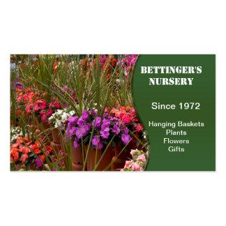 Greenhouse Nursery Business Cards