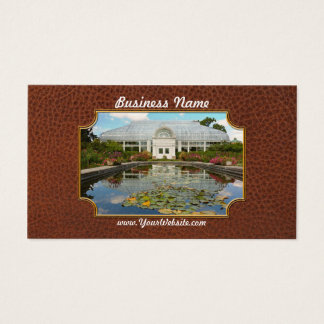 Greenhouse - The conservatory Business Card