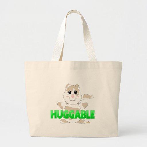 GreenHuggableHuggableTanSpottedCat Bolsa