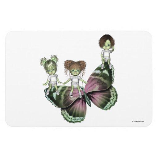 Greenie Babies LuLu Fairy Premium Magnet