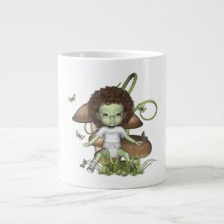 Greenie Baby Ali Butterflies Mug