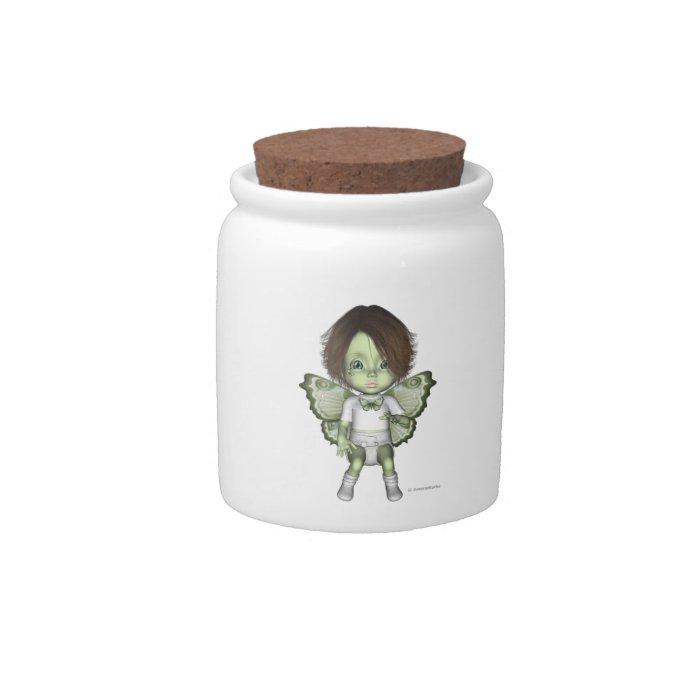 Greenie Baby Butterfly Fairy Jamie Candy Jar