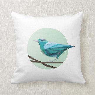 Greenie birdie throw pillow