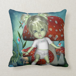 GreenieBabies Fairy LuLu American MoJo Pillow
