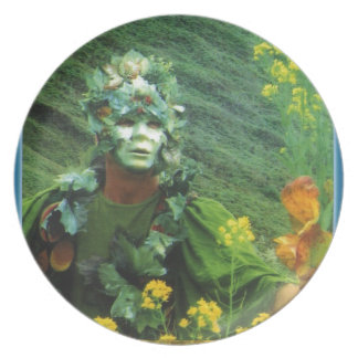 Greening Man - Renewal Melamine Plate