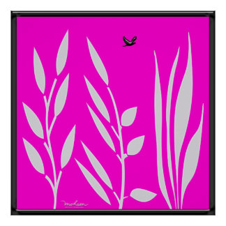 Greening Vegetation Poster