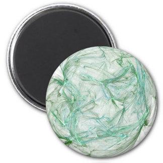 Greenish 2 Inch Round Magnet