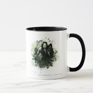 Greenish Aragorn Vector Collage Mug