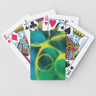 Greenish Bicycle Playing Cards