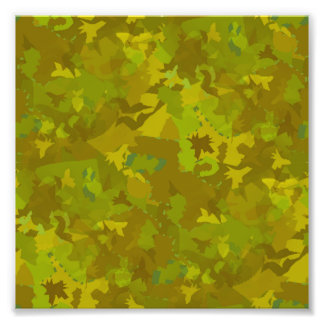 greenish camouflage camo digital pattern photo print