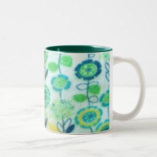 greenish design mug