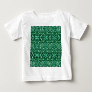 Greenish Kaleidoscope Design Pattern T-shirts