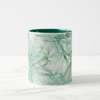 Greenish Two-Tone Coffee Mug
