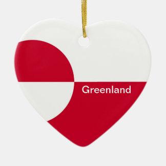 GREENLAND CERAMIC ORNAMENT