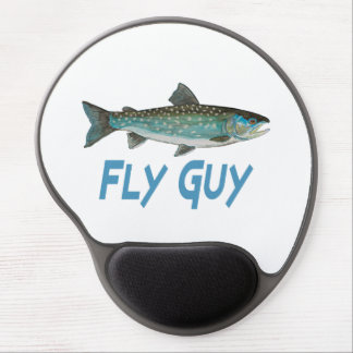 Greenland Char Fishing Gel Mouse Pad