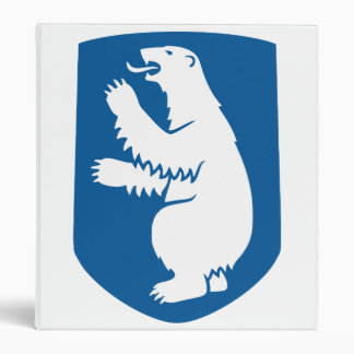 Greenland Coat Of Arms Binder