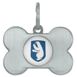 Greenland Coat of Arms Pet ID Tag