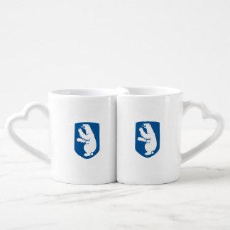 Greenland Coat of Arms Couples Mug