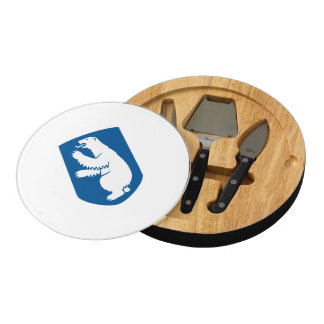 Greenland Coat of Arms Round Cheeseboard