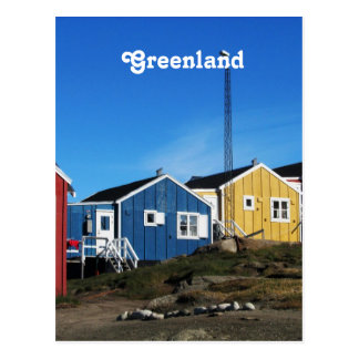 Greenland Countryside Postcard