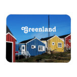 Greenland Countryside Rectangular Magnets
