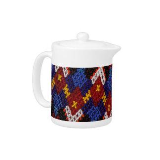 Greenland custom tea pot